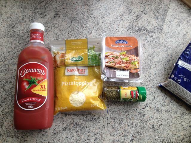 Ingrediens para el relleno