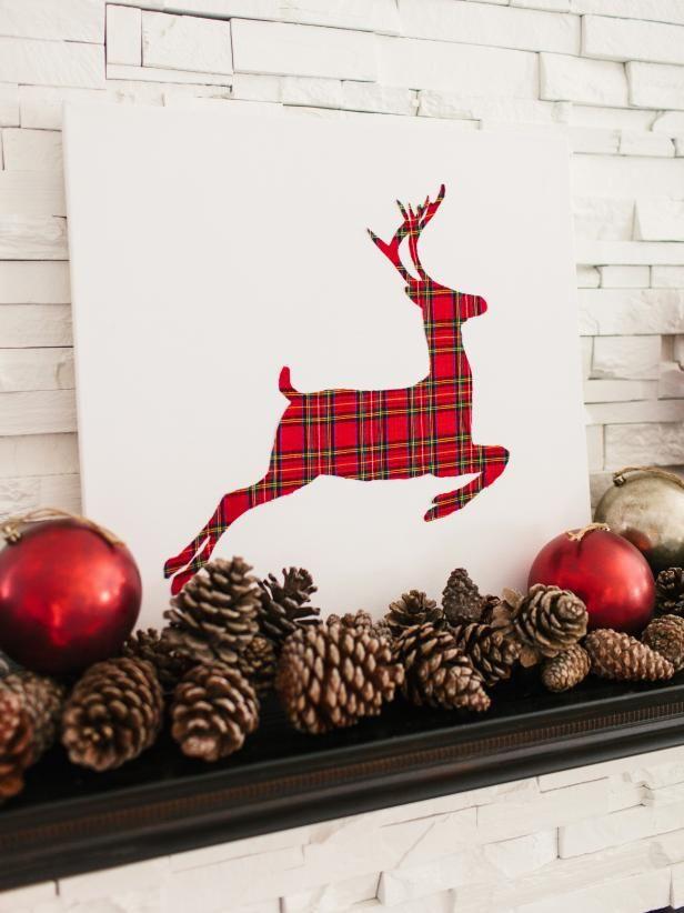 Fotografía - Cómo hacer a cuadros renos obra navidad