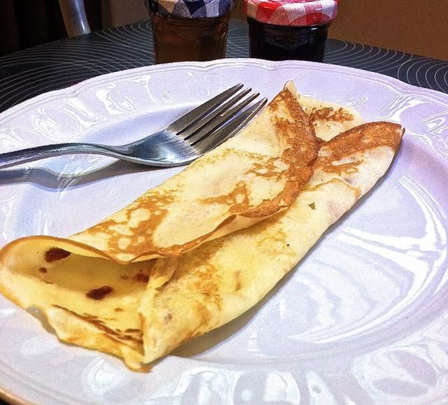 Y tú're done! This simple pancake is delicious even when served plain.