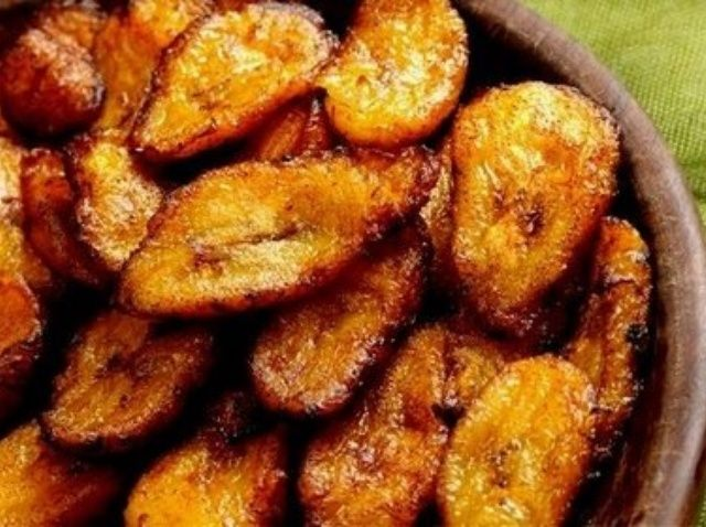Cómo hacer Platanos Maduros (Sweet plátanos fritos) Receta