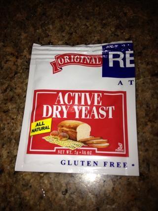 1 7 g de levadura uso de paquetes de 6 g