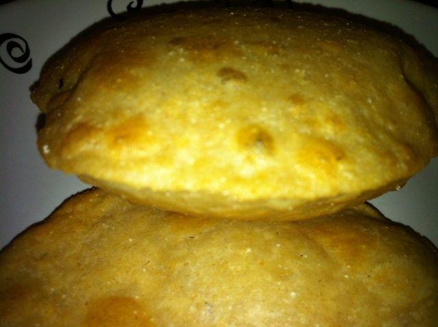 Cómo hacer Poori-Fried Pan Integral (Desayuno) Receta