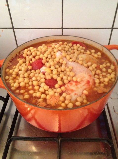 Cómo hacer Portugués Pollo Guisado Receta