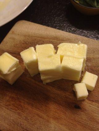 Obtener un poco de mantequilla listo