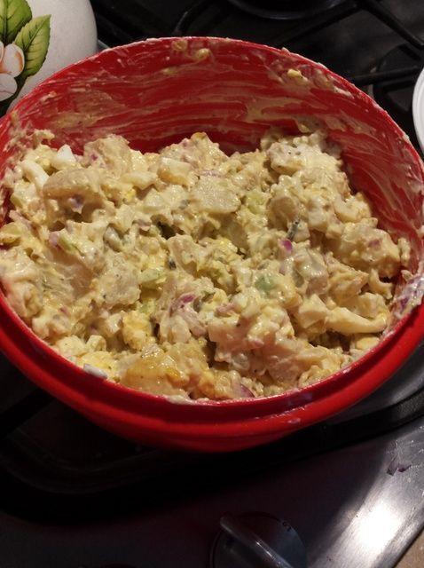 Cómo hacer Ensalada de patata Receta