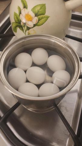 Hervir los huevos !!!