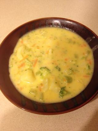 Voila! Sopa deliciosa. Serví con un poco de pan francés caliente. Ensaladas son buenas si se necesita un poco de bondad extra! Disfrute y mantenerse caliente.
