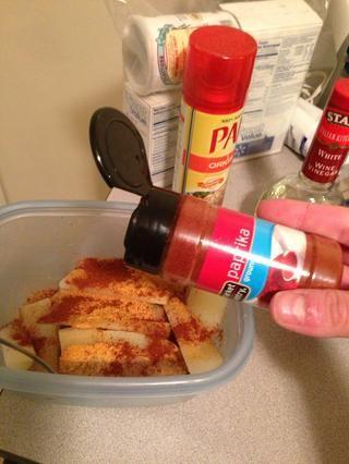 Añadir el pimentón.