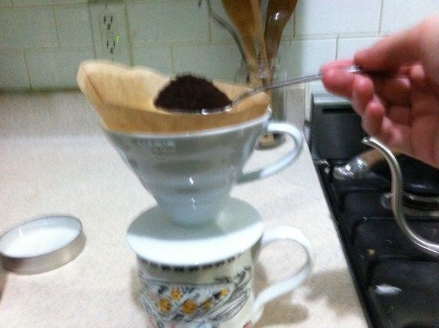 Cómo hacer Verter sobre Café Receta