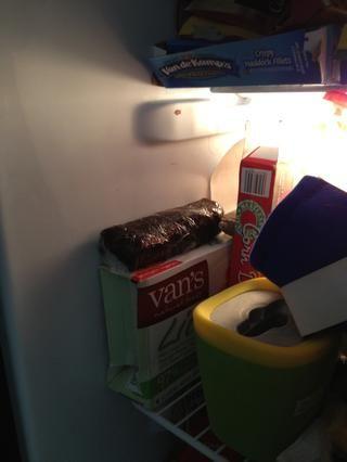 Colóquelo en el congelador.