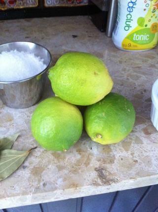 4 limones sin encerar