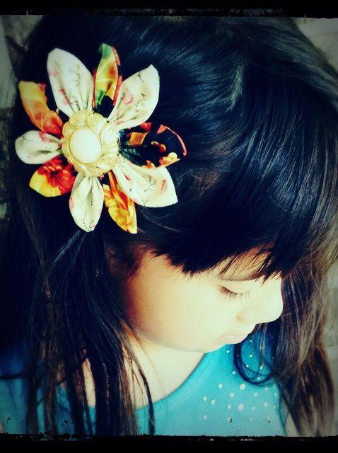 Cómo hacer flores bonitas de tela