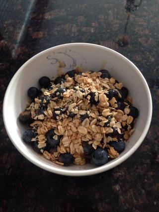 La proteína envasados desayuno o merienda saludable! Tamaño de la porción = 1 y 249 calorías por porción