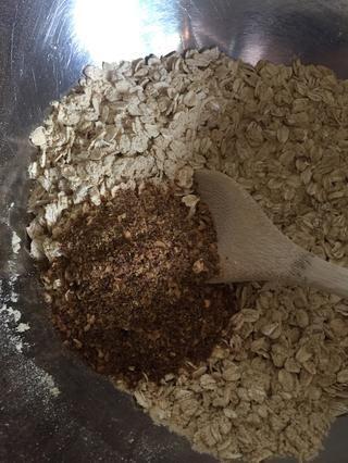 Añadir las semillas de lino