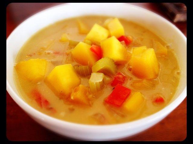 Cómo hacer calabaza Curry en la receta de cocción lenta