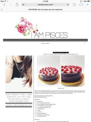 Gracias por ver! Visita mi sitio web para más recetas en iampiscesw.com