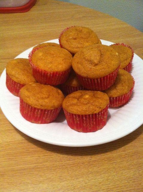 Cómo hacer Muffins de calabaza Receta