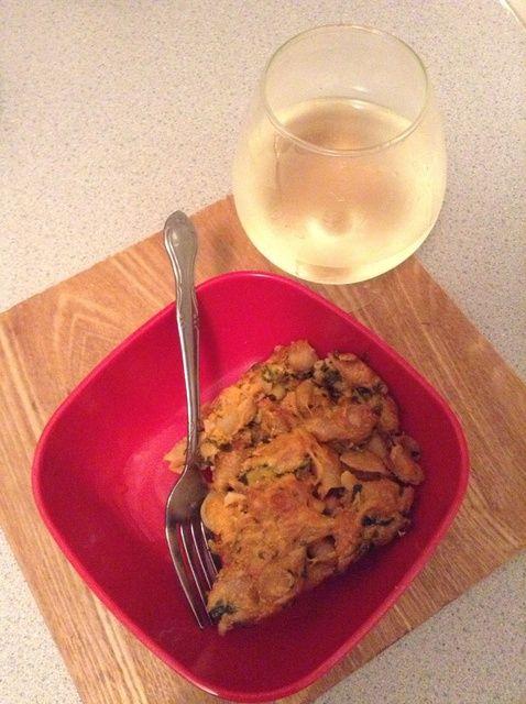 Cómo hacer calabaza y espinacas macarrones con queso Receta
