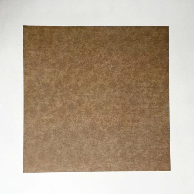 El uso de un patrón de papel de doble cara cuadrada, comenzar con la cara que desea que el mensaje que se oculta en el interior ...
