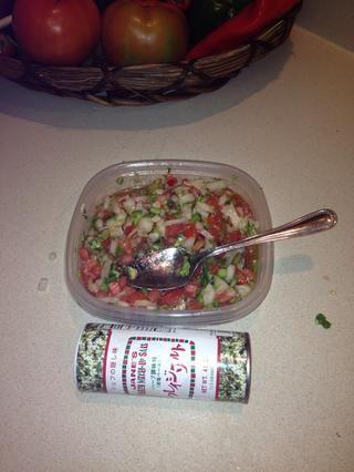Sal y pimienta al gusto