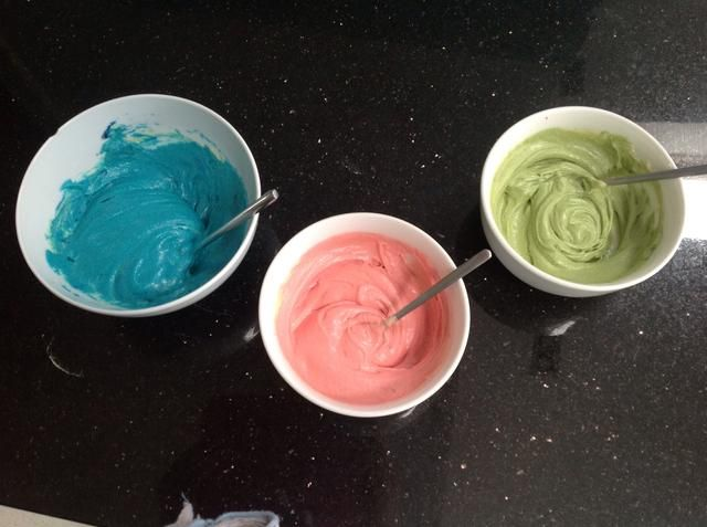 Mis 3 colores de elección :)