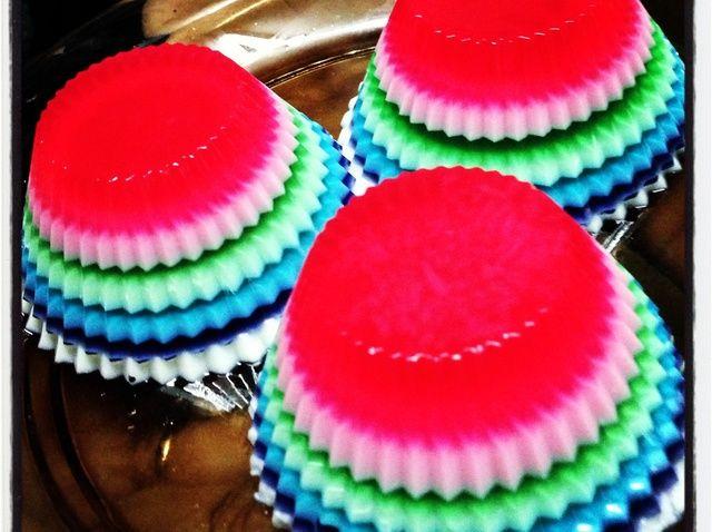 Cómo hacer Rainbow Jelly ?????? Receta