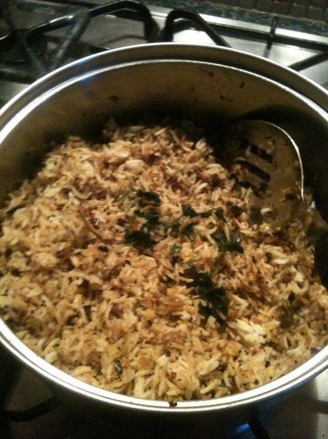 Cómo hacer Raw Mango arroz! Receta