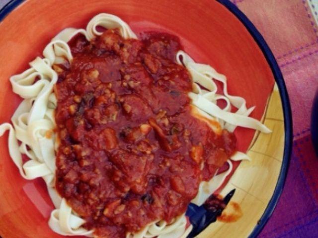 Cómo hacer real italiana casera salsa de tomate! Receta