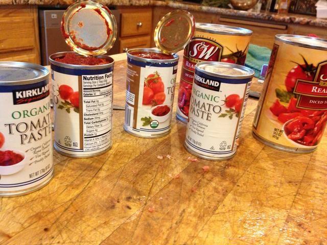 Abre tus latas de tomates!