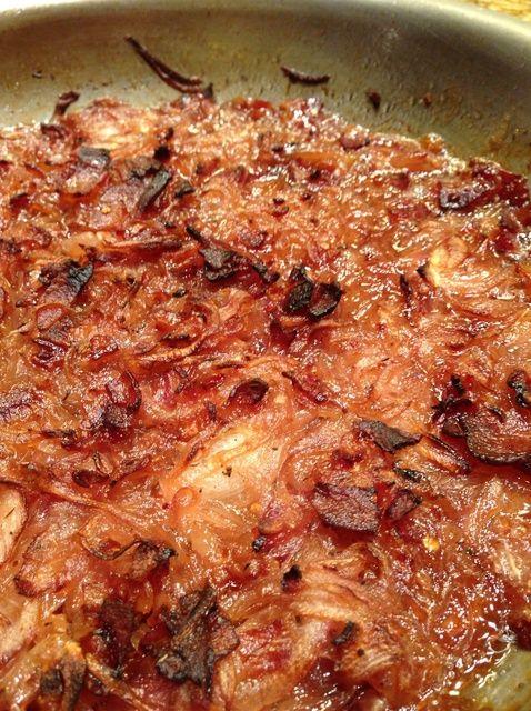 Cómo hacer cebolla roja tocino Jam en una receta Combi Horno