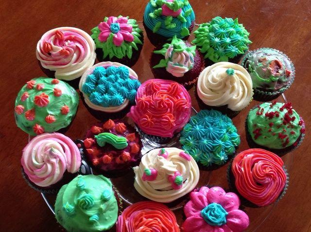 Cómo hacer Red Velvet Cupcakes o un pastel !!! Receta