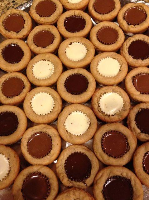 Cómo hacer Reese Huella Receta de las galletas