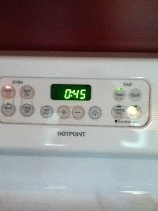 Establezca su temporizador de 45 minutos y esperar