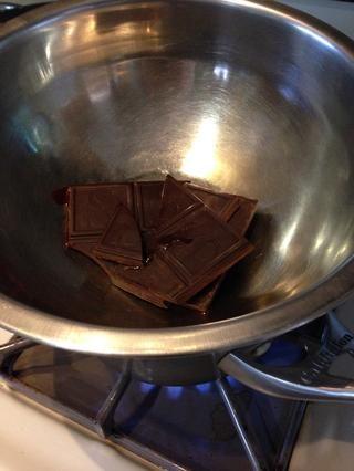 El chocolate se derrite!