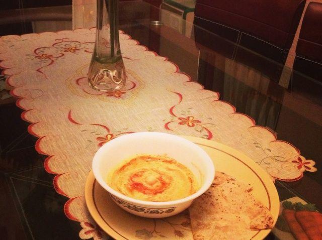 Cómo hacer pimiento rojo asado hummus en casa Receta