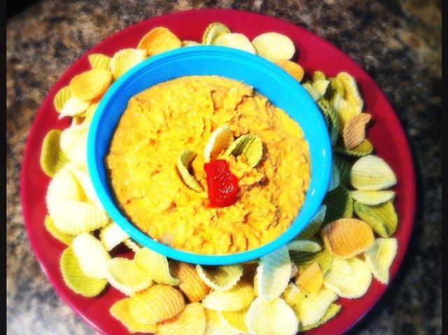 Cómo hacer pimientos rojos asados Hummus Receta