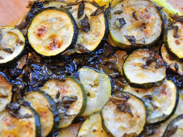 Cómo hacer asado calabacín con # 4 Pronto Italiano Receta