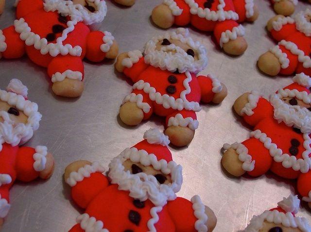 Cómo hacer Roly-Poly de Santa Receta de las galletas