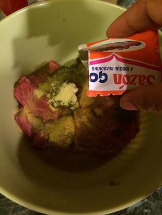 y por último la sazon goya