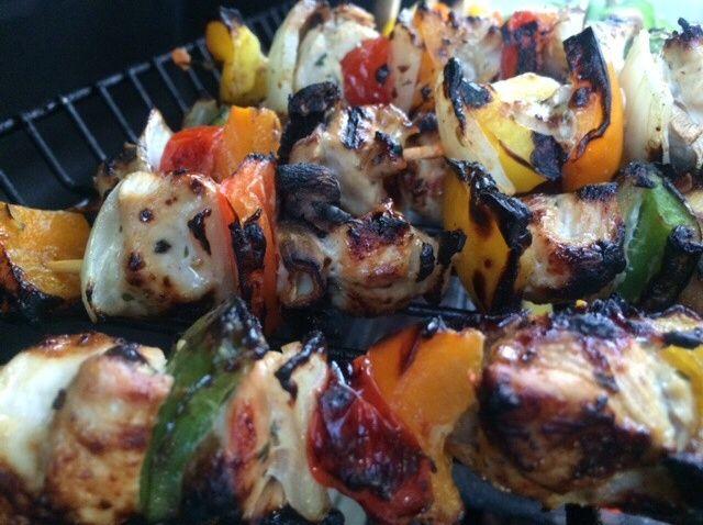 Cómo hacer Romero Pollo Kebabs Receta