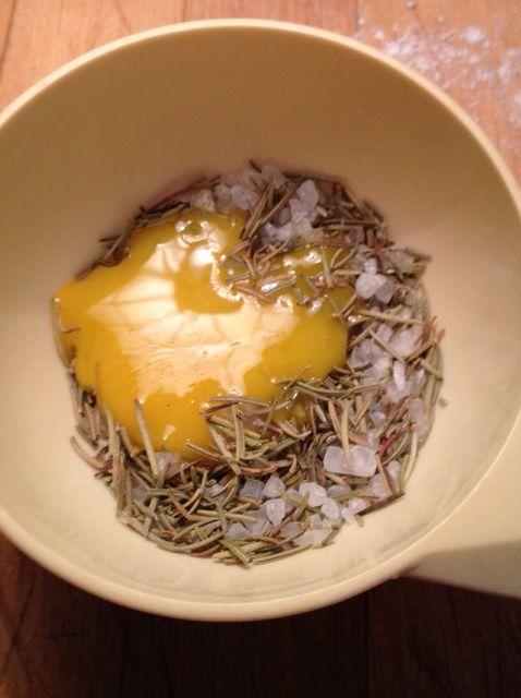 Cómo hacer Romero Mar Salado Pan Receta