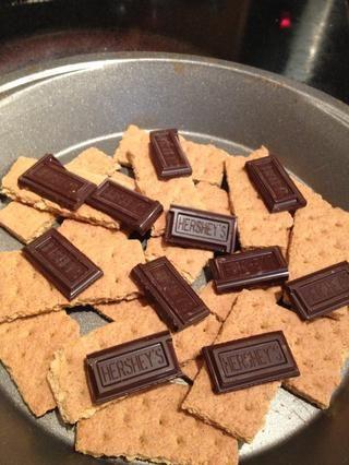 A continuación, añadir que el chocolate increíble .... mmm!