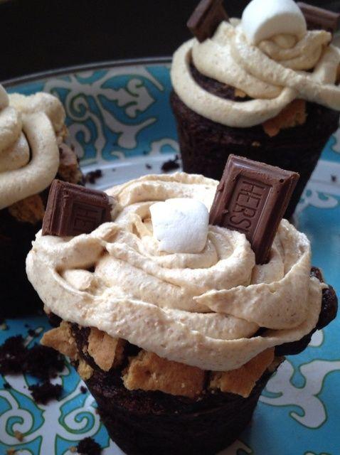 Cómo hacer S'mores Cupcakes Recipe