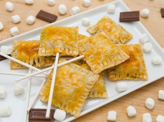 Cómo hacer S'mores Pie Pops Recipe