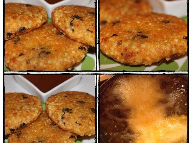 Cómo hacer sagú y Buñuelos de patata Receta