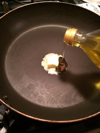 Y una cucharada de aceite de oliva