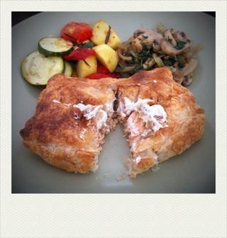 Servir con verduras a la parrilla y cebollas champiñones de ajo (por favor revise mis otros 2 guías para la recipe!). Bon apetit !