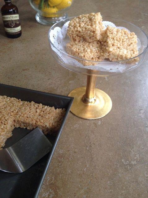 Cómo hacer Salado Marrón Mantequilla Crispy Treats Receta