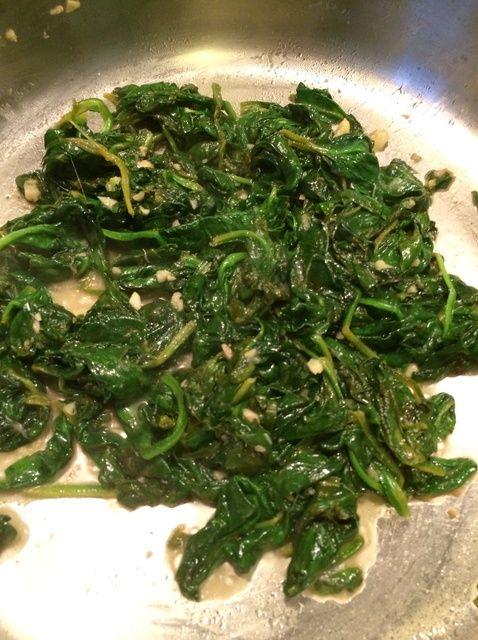 Cómo hacer salteado de espinacas con ajo y limón Receta