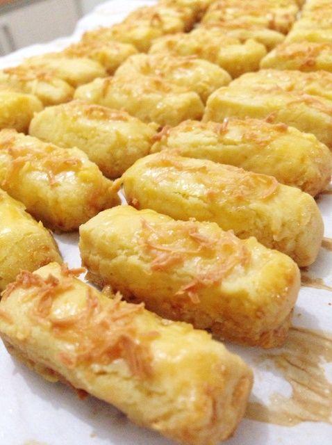 Cómo hacer galletas de queso Savory (Kaass Stengels) Receta